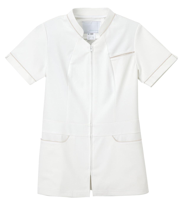 呼び起こす料理をするグレーナガイレーベン NAGAILEBEN 女子上衣 LH-6232(L) オフホワイト