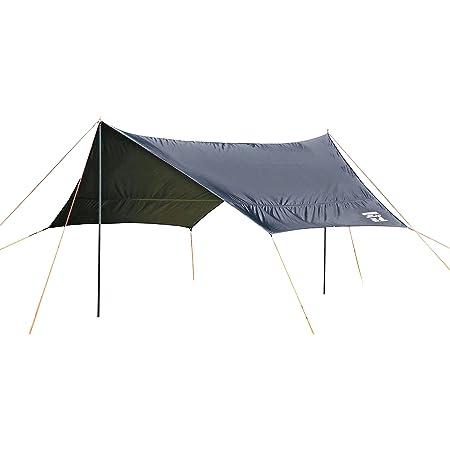 キャプテンスタッグ(CAPTAIN STAG) キャンプ テント タープ ヘキサタープ 【サイズ400×420×H220cm】 UV・PU加工 キャリーバッグ付き CSブラックラベル UA-1074