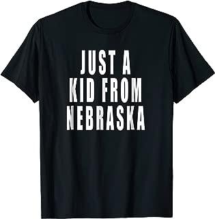 just a kid from nebraska shirt