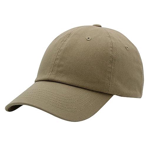 fc0e9218fb6 Top Level Baseball Cap for Men Women - Classic Cotton Dad Hat Plain Cap Low  Profile