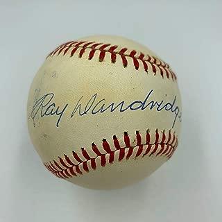 Signed Ray Dandridge Baseball - Official National League COA - JSA Certified - Autographed Baseballs