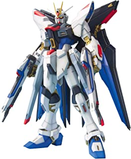 Bandai Hobby Strike Freedom Gundam Seed Destiny Mobile Suit Model Kit (1/100 Scale)