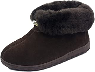 K.Signature Womens Danko Bootie Sheepskin Slippers