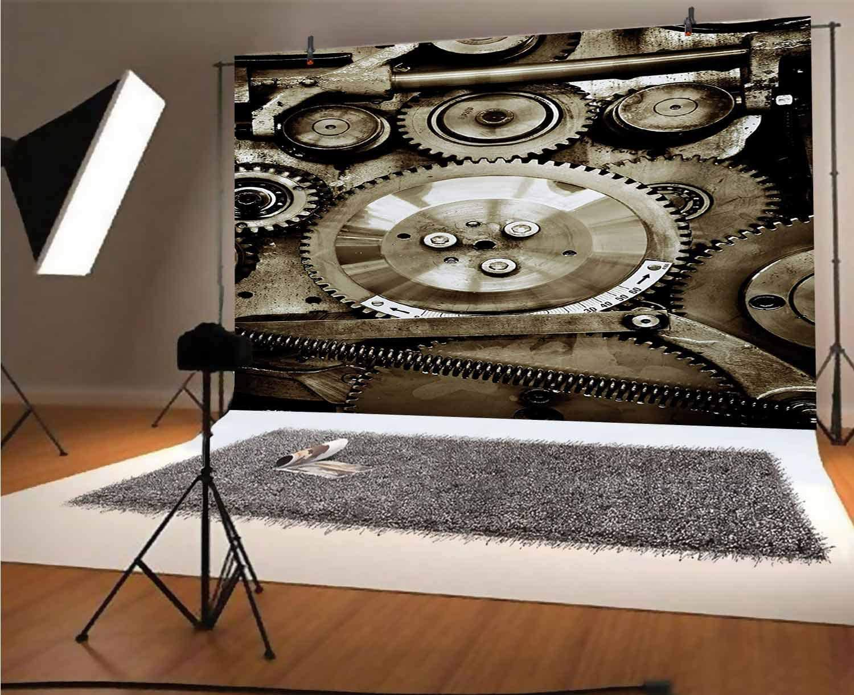 Hamsa 10x6.5 FT Vinyl Photography Background Backdrops,Ancient Hand of Fatima with Cute Lotus Blossoms Kabbalah Theme Mehndi Style Artwork Background for Photo Backdrop Studio Props Photo Backdrop Wal
