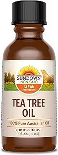 Sundown Tea Tree Oil Liquid, 1 Ounce
