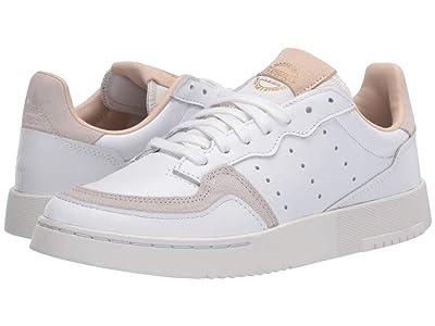 adidas Originals Kids Supercourt (Big Kid) (White/Crystal White) Boy