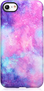 DICHEER iPhone 7 Case,iPhone 8 Case,Cute for Women Girls Slim Fit Thin Clear Bumper Glossy TPU Soft Rubber Silicon Cover B...