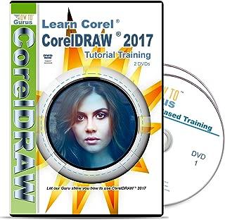 Corel CorelDRAW 2017 Training on 2 DVDs 182 Videos 11 Hours Computer Software Tutorial