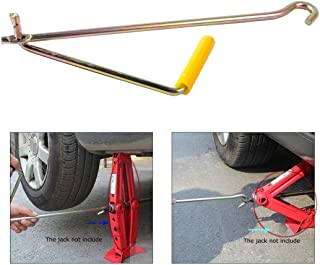 Hanperal Car Steel Tire Wheel Lug Wrench Scissor Jack Crank Speed Handle Lift Tool