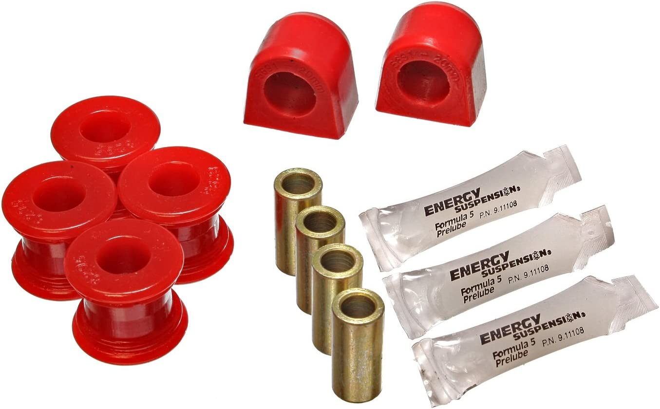 Energy Suspension 19.5102R 爆売り 20mm Rear Set 配送員設置送料無料 Sway Bar