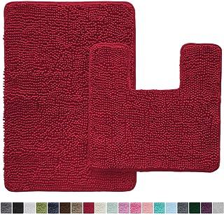 Amazoncom Red Bath Rugs