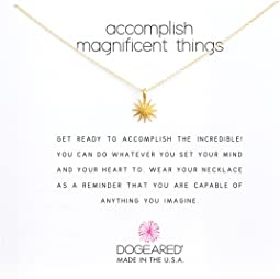 Accomplish Magnificent Things Necklace 16""