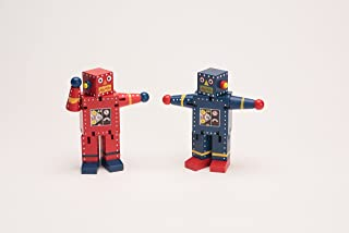 Robot X-7-bending Shaping Rotate Wooden Toy - 2 Pack