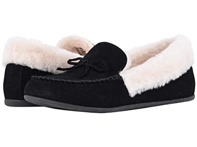 FitFlop Clara Moccasin (Black) Women