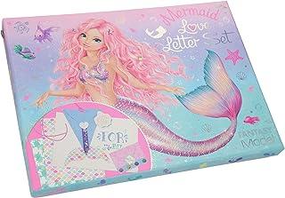 Depesche 11245 Love Letter Set Fantasy Model Mermaid con muchos accesorios para manualidades, aprox. 26 x 19,5 x 3,5 cm