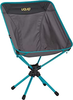 Uquip 3Sixty Ultralight Camping Chairs with Carrying Bag, 360° Swivel
