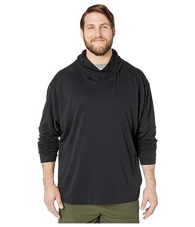 Nike Big Tall Dry Hoodie Pullover Hyperdry (Black/Black) Men