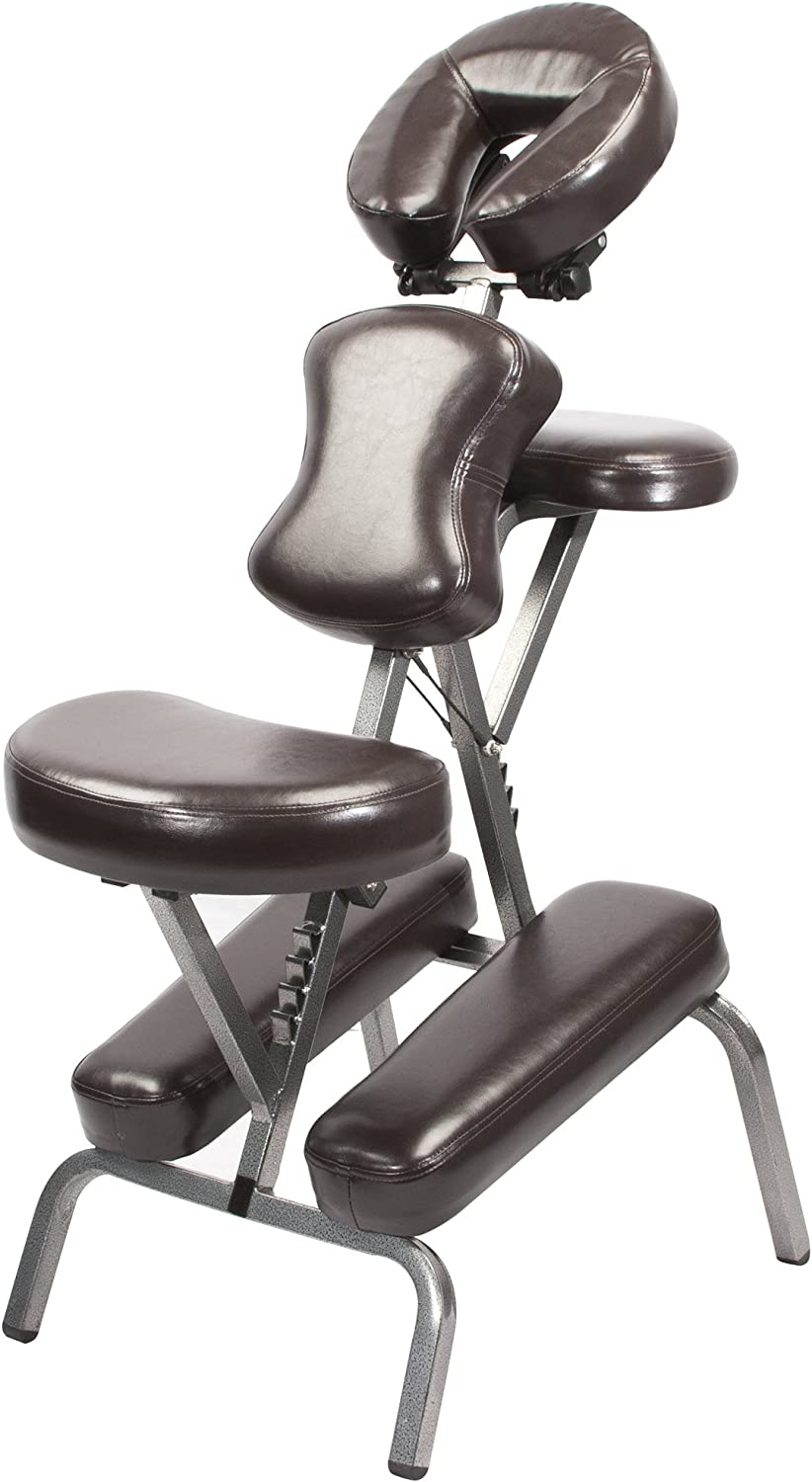 Master Massage Master Massage Bedford Portable Massage Chair Package, Blue: Health & Personal Care