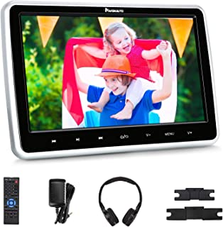 "NAVISKAUTO 10.1"" Car DVD Player with Wireless Headphone Support HDMI Input, 1080P Video, Sync Screen, AV Out & in, FM IR, ..."