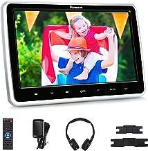 "NAVISKAUTO 10.1"" Car DVD Player with Wireless Headphone Support HDMI Input, 1080P Video, Sync Screen, AV Out & in, FM IR, ..."