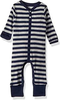 Burt's Bees Baby - Baby Boys' Romper Jumpsuit, 100% Organic Cotton One-Piece Coverall