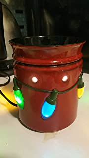 Scentsy Warmer, Holiday Lights, Winter Christmas Full-size Premium