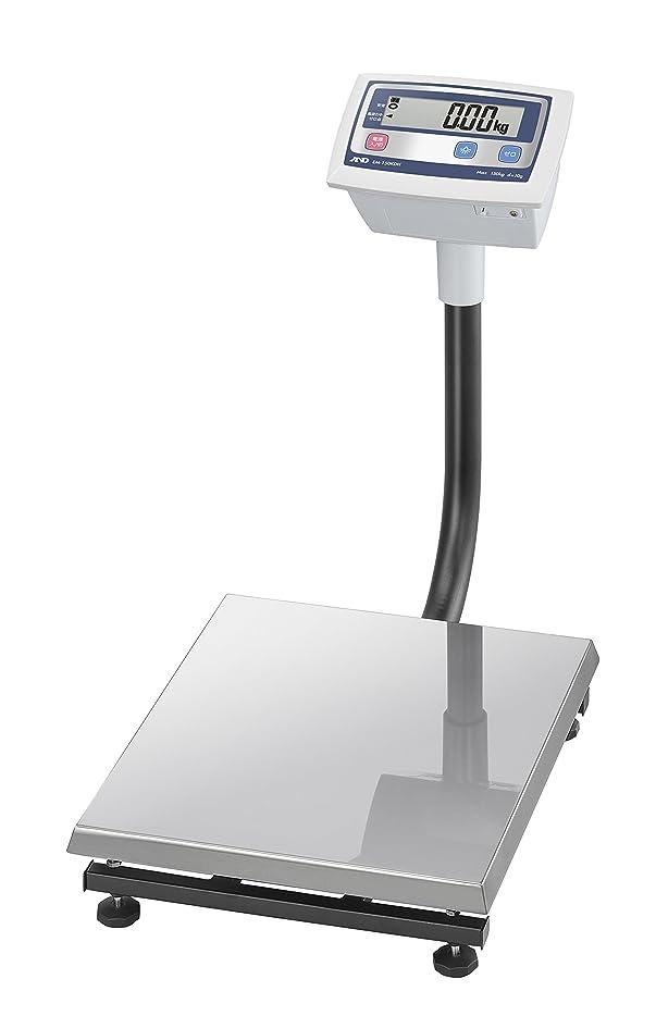 ローラー密接にパパA&D 農業向けデジタル台はかり EM-150KDH ?ひょう量:150kg 最小表示:0.01kg 皿寸法:400(W)*500(D)mm 検定無? ※計量法準拠製品