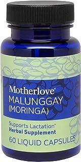Sponsored Ad - Motherlove Malunggay (Moringa) Vegan Capsules (60ct) Herbal Breastfeeding Supplement to Enhance Breast Milk...