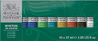 Winsor & Newton- Winton Set de 10 Tubos de 37 ml de ó