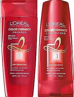 L'oreal Haircare Color Vibrancy Shampoo & Conditioner, 12.6 Fl. Oz