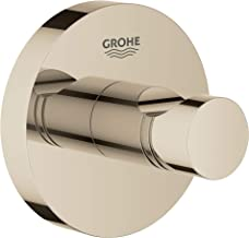 GROHE 40364BE1 Essentials Robe Hook, Polished Nickel