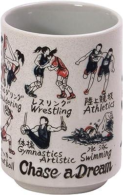 山志製陶所 湯呑 スポーツ 280ml 中切立JAPANシリーズ C3-35