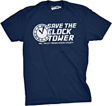 Save The Clock Tower T Shirt Funny Movie Shirt Time Travel Tee