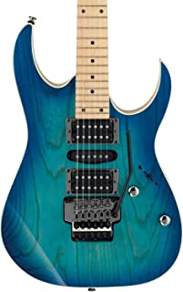 Ibanez RG470AHM BMT RG Standard Blue Moon Burst Guitar Bundle w/Hard Case