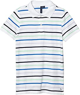 Lt. Blue, 24 Months Two In Love Unisex Baby Black Striped Neck Tie T-Shirt Romper