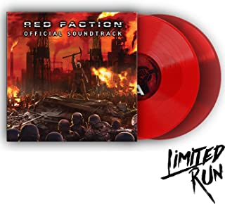 Red Faction Official Soundtrack - Exclusive Limited Edition Red Colored 2x Vinyl LP #/400