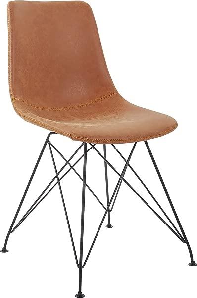 OSP Home Furnishings SB5662 P42 Trenton 2 Pack Chair Sand