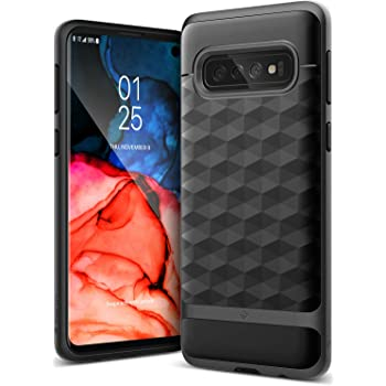 Caseology Parallax for Galaxy S10 Case (2019) - Award Winning Design - Black