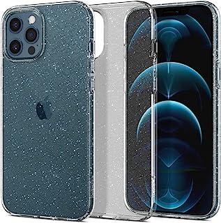 Spigen Liquid Crystal Glitter Designed for Apple iPhone 12 Pro Max Case (2020) - Crystal Quartz (ACS01614)