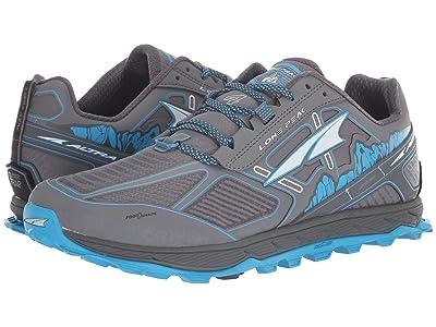 Altra Footwear Lone Peak 4 Low RSM (Gray/Blue) Men