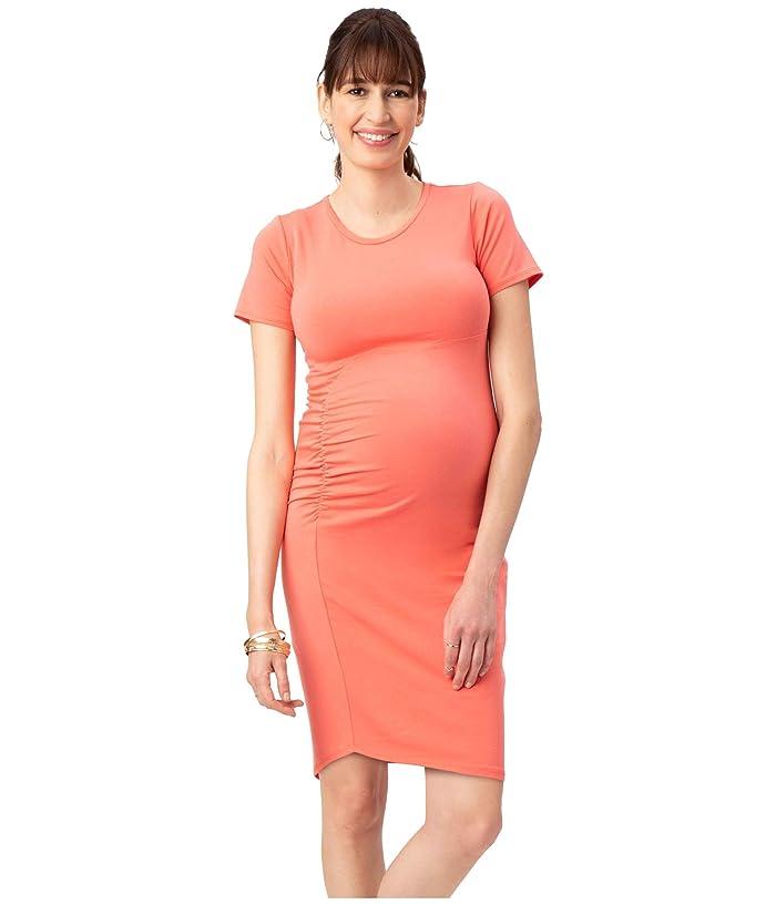 Stowaway Collection Maternitystowaway Collection Maternity Uptown Maternity Dress Coral Women S Clothing Dailymail