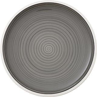 Villeroy & Boch Manufacture Plato llano Porcelana Premium, Gris, 27 cm
