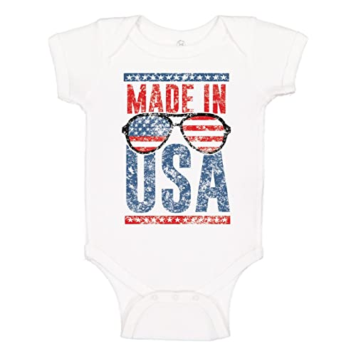 7f80bfa7e7 Panoware Funny Patriotic 4th of July Baby Onesie