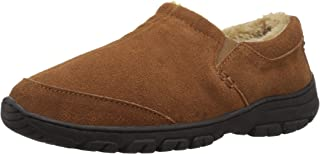 1a4652fd2e0 Staheekum Men s Spring Foam Molded Insole with Plush Lining Indoor and  Outdoor Slipper Driving Style Loafer