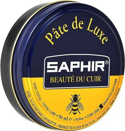 Saphir Cirage Pâte de Luxe, Marron Foncé, 50 ml