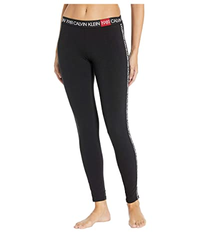 Calvin Klein Underwear 1981 Lounge Leggings (Black) Women