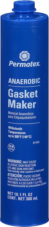 Permatex 51845 Popularity Anaerobic Gasket Cartridge 1 year warranty 300 ml Maker