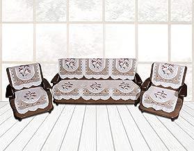 DEWBERRIES Net Fabric Sofa Cover 10 Pieces Set