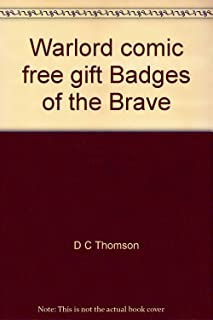 Warlord comic free gift Badges of the Brave