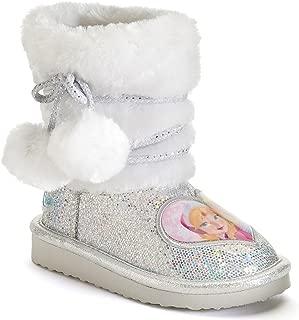 Frozen Anna and Elsa Toddler Girls' Glitter Boots